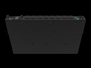 HPE G2 Metered 1.9kVA/IEC C20 Detachable 16A/120V Outlets (8) 5-20R/1U Horizontal NA/JP PDU Right facing