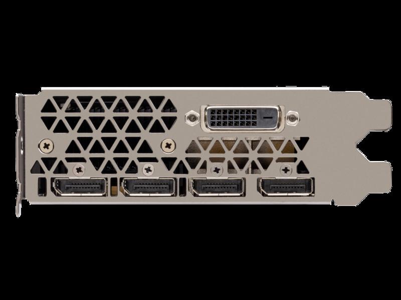 HPE NVIDIA Quadro P6000-Grafikbeschleuniger Detail view