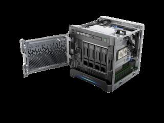 HPE ProLiant MicroServer Gen8 Left facing