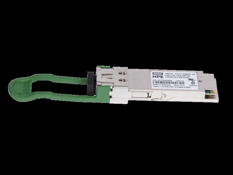 HPE X150 100G QSFP28 CWDM4 2km SM Transceiver Center facing