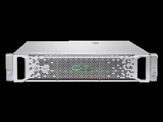 HPE SimpliVity 380 Center facing