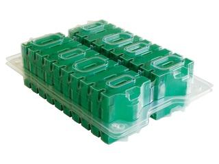 HPE LTO-4 Ultrium 1.6TB RFID RW Custom Labeled Data Cartridge 20 Pack Right facing