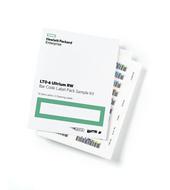 HP Q2013A LTO-6 Ultrium RW Bar Code Label Pack (100 adat + 10 tisztító cimke)