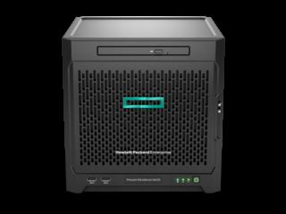 HPE ProLiant MicroServer Gen10 Center facing