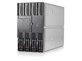 Server blade HPE Integrity BL890c i6 Left facing