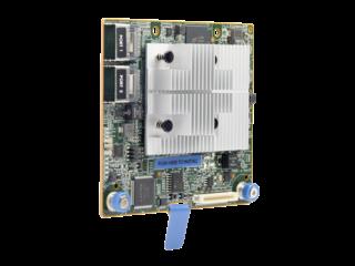 HPE Smart Array P408i-a SR Gen10 (8 Internal Lanes/2GB Cache) 12G SAS Modular Controller Left facing