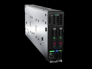 Blade servidor HPE ProLiant BL460c Gen10 Right facing