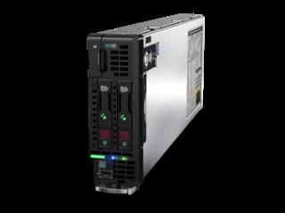 Blade servidor HPE ProLiant BL460c Gen10 Left facing