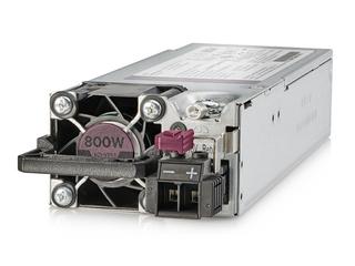 Kit d'alimentation HPE Platinum, à logement flexible, -48VCC, enfichable à chaud, faible teneur en halogène, 800W Left facing