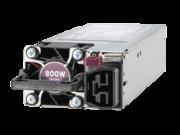 Kit de fuente de alimentación universal hot-plug de bajo contenido en halógenos y ranura flexible de 800 W de HPE