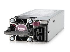 Kit d'alimentation HPE Platinum, à logement flexible, enfichable à chaud, faible teneur en halogène, 800W