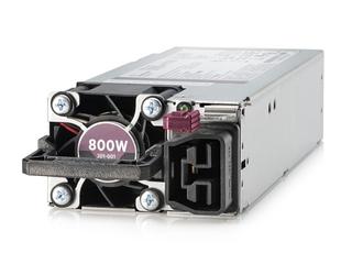 Kit d'alimentation HPE Universal, à logement flexible, enfichable à chaud, faible teneur en halogène, 800W Left facing