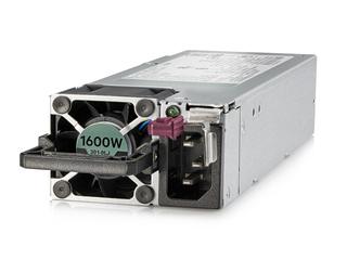 HPE 1600 瓦灵活插槽铂金级热插拔低卤电源套件 Left facing