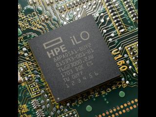 HPE iLO Advanced Center facing
