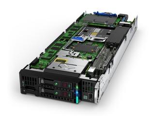 Servidor HPE ProLiant BL460c Gen10 Intel Xeon-G 5120 2P 64 GB-R Left facing