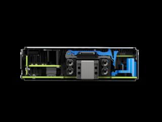 Servidor HPE ProLiant BL460c Gen10 Intel Xeon-G 5120 2P 64 GB-R Rear facing