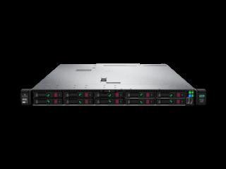 HPE ProLiant DL360 Gen10 6130 125 W 2P 64G-2R P408i-a Premium 10 NVMe 2x800W Hochleistungsserver Center facing horizontal