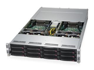 HPE Apollo kl20 Server Left facing
