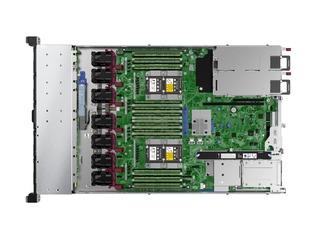 HPE ProLiant DL360 Gen10 3104 1P 8GB-R S100i 4LFF 500W PS Base Server Top view open