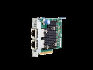 HPE Ethernet 10Gb 2-port 562FLR-T Adapter Left facing