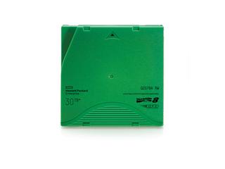 HPE LTO-8 Ultrium 30TB RW-Datenkassette Left facing horizontal
