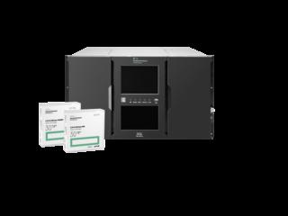 HPE LTO-8 Ultrium 30TB RW Data Cartridge Center facing