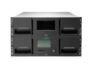 HPE StoreEver MSL 3040 Skalierbares Library-Basismodul Center facing