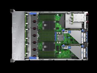 HPE ProLiant DL385 Gen10 Server Top view open