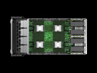 Serveur HPE Superdome Flex Top view open