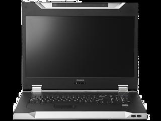 HPE KVM Console Kits Center facing horizontal