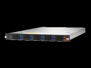 HPE Cloudline CL2100 Gen10 Server Left facing