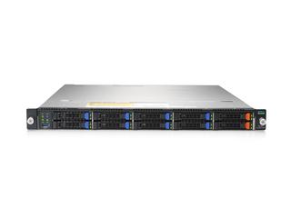HPE Cloudline CL2100 Gen10 Server Center facing