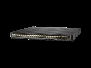 HPE Altoline 6822 48XG 6QSFP28 x86 ONIE Switch Center facing