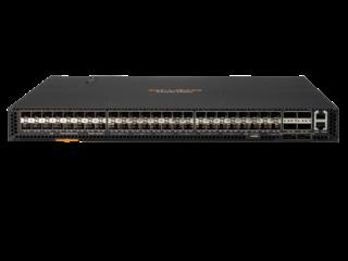 Aruba 8320 Switch Series Center facing