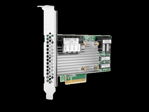 HPE Smart Array P824i-p MR Gen10 (24 Internal Lanes/4GB Cache/CacheCade) 12G SAS PCIe Controller