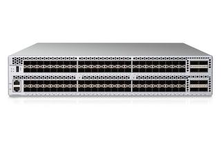 HPE SN6650B 32Gb 128/96 Power Pack+ 96ポート32Gb短波SFP+内蔵FCスイッチ Center facing