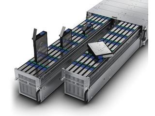 HPE Cloudline CL5200 Gen9 Server Top view open