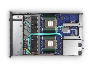 HPE Cloudline CL2100 Gen10 Server Top view open