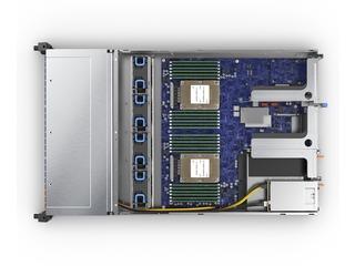 HPE Cloudline CL2200 Gen10 Server Top view open