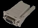 HPE RJ45-DB9 DCE Female 8-pack Serial Adapter
