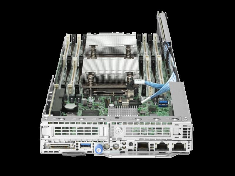 HPE ProLiant XL170r Gen9 Server Center facing
