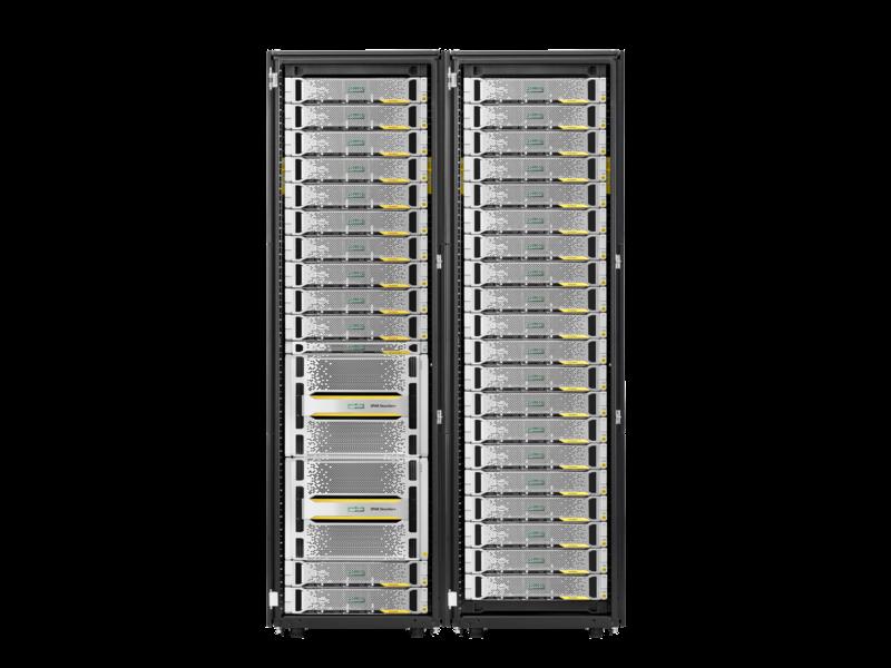 Armazenamento HPE 3PAR StoreServ 20000 Center facing