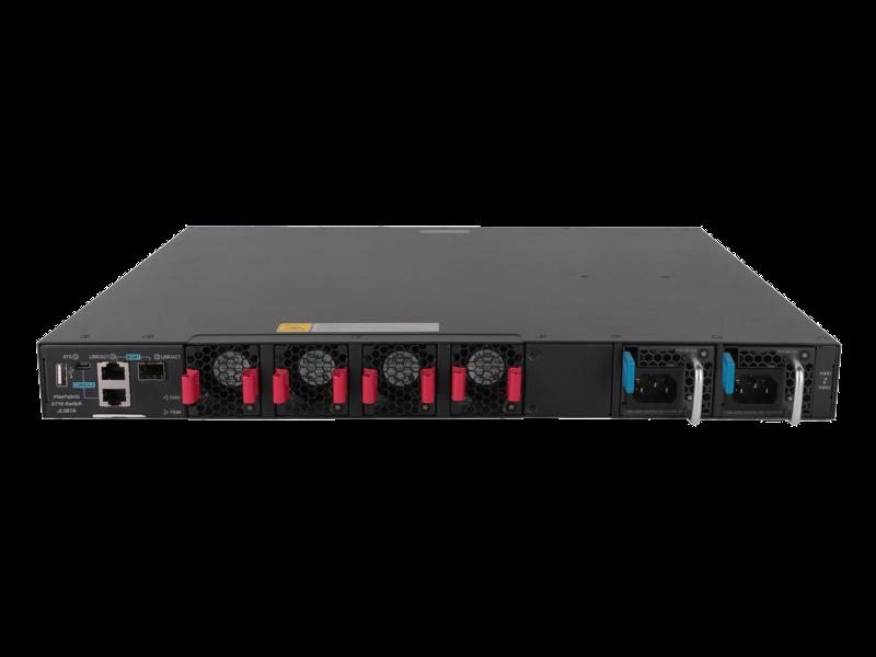 Conmutador HPE FlexFabric 5710 24SFP+ 6QSFP+ o 2QSFP28 Rear facing