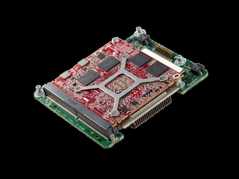 HPE AMD FirePro S9150 Beschleunigerkit Left facing