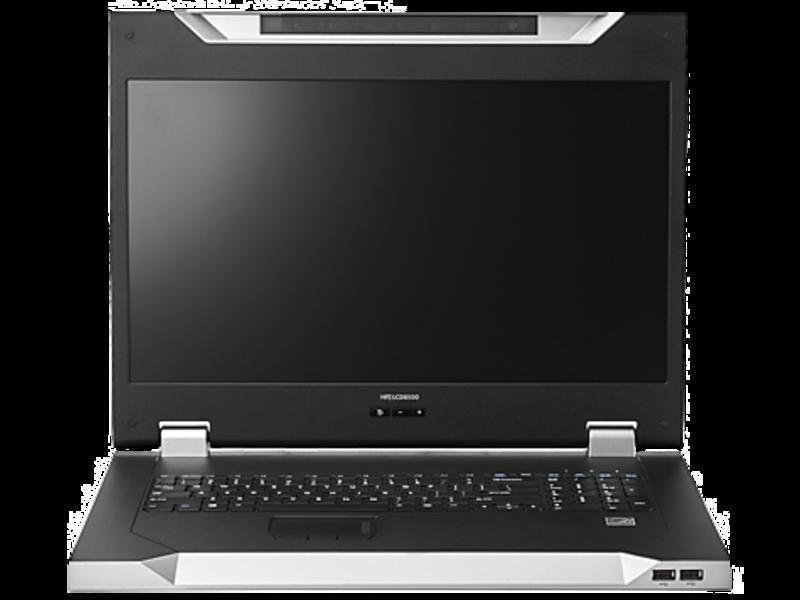 HPE 企业级 LCD 控制台 Center facing