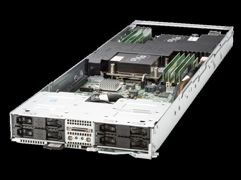 HPE ProLiant XL230a Gen9 Server Center facing