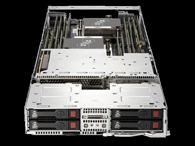 HPE ProLiant XL230a Gen9 服务器 Center facing