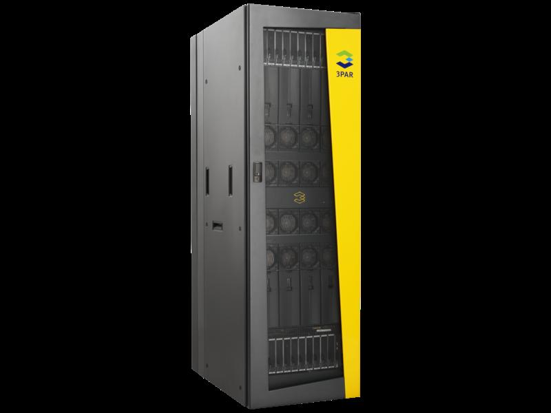 HPE 3PAR StoreServ 10400 2.8-GHz 16GBコントロール/32GBデータキャッシュアップグレードコントローラーノード Left facing