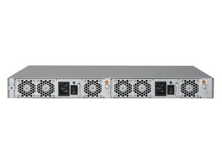 HPE SN6600B 32Gb 48/48 48ポート32Gb短波SFP+内蔵FCスイッチ Rear facing