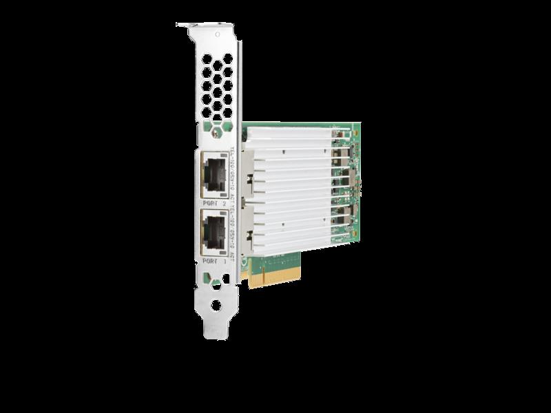 Cartes réseau convergent HPE StoreFabric Left facing